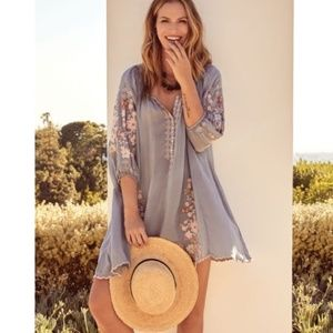 Nwt Johnny Was embroidered dress S medium welcome
